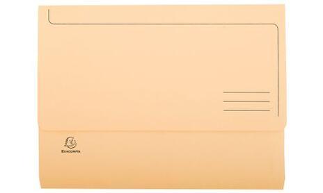 Exacompta 47970E cartella A4 Cartoncino Blu, Verde, Arancione, Rosa, Giallo - 6
