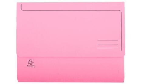 Exacompta 47970E cartella A4 Cartoncino Blu, Verde, Arancione, Rosa, Giallo - 7