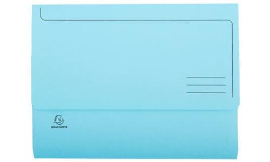 Exacompta 47970E cartella A4 Cartoncino Blu, Verde, Arancione, Rosa, Giallo - 9