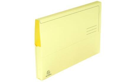 Exacompta 47979E cartella A4 Cartoncino Giallo - 2