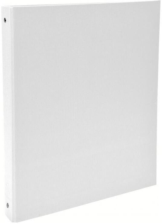 Quaderno ad anelli A4 Exacompta in PPL Foderato Opaco 4 anelli Bianco - 3cm