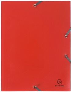 Cartoleria Cartellette in Ppl opaco. con elastici di chiusura. 3 alette Exacompta