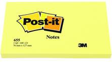 3M Post-it Notes. Flow Pack 100 Fogli Gialli 76x127mm