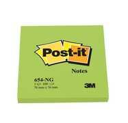 Cartoleria 3M Post-it. 100 Foglietti Post-it Colore Verde 76x76mm 3M