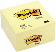 Blocchetto memo cube Post-it 636-B Giallo - 76x76