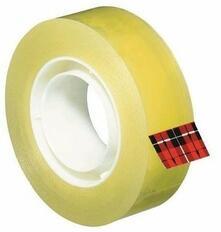 3M Post-it. Nastro Adesivo Scotch Trasparente Acrilico Ufficio 19mmx33m