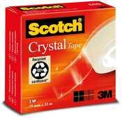 Cartoleria Scotch Crystal Serie 600. Nastro super trasparente Scotch