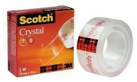 Cartoleria Nastro adesivo Scotch Crystal supertrasparente Scotch