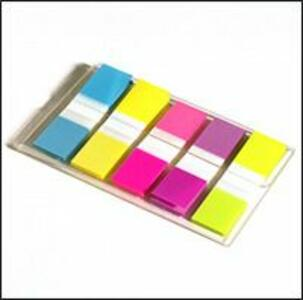 3M Post-it Index. Miniset Dispenser 100 Segnapagina 5 Colori