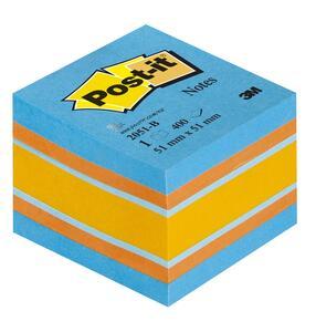 3M Post-it. Mini Cubo 400 Foglietti Post-it