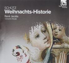 Storia di Natale (Weihnachts-Historie) - CD Audio di Heinrich Schütz,René Jacobs,Concerto Vocale