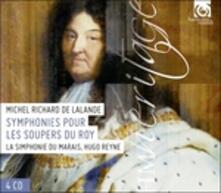 Simphonies pour le Souper du Roy - CD Audio di Michel Richard De Lalande