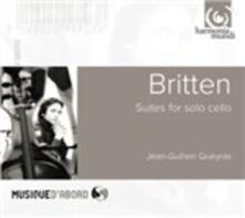 Suites Pour Violoncelle - CD Audio di Benjamin Britten