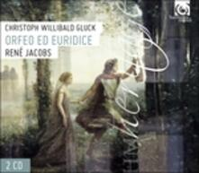 Orfeo Ed Euridice - CD Audio di Christoph Willibald Gluck,René Jacobs