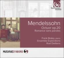 Ottetto op.20 - Variazioni concertanti - CD Audio di Felix Mendelssohn-Bartholdy