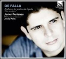 Notte nei giardini di Spagna - 4 Piezas españolas, Fantasia bætica - Canción - Nocturno - Mazurka - Serenata andaluza - CD Audio di Manuel De Falla