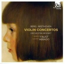 Concerti per violino - CD Audio di Ludwig van Beethoven,Alban Berg,Claudio Abbado,Isabelle Faust,Orchestra Mozart