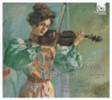 6 Sonate per violino op.10 - Quartetto - CD Audio di Carl Maria Von Weber
