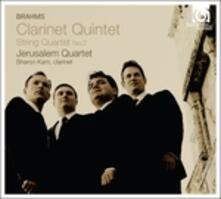 Clarinet Quintet - CD Audio di Johannes Brahms