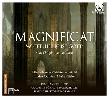 Magnificat WQ215 - Heilig Ist Gott WQ21 - CD Audio di Carl Philipp Emanuel Bach