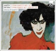 Quartetti per archi n.1, n.2 - CD Audio di Leos Janacek,Jerusalem Quartet