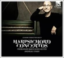 Concerti per clavicembalo BMW 1052-1058 - CD Audio di Johann Sebastian Bach,Andreas Staier