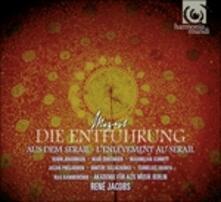 Il ratto dal serraglio (Die Entführung aus dem Serail) - CD Audio di Wolfgang Amadeus Mozart,René Jacobs