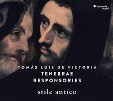 Tenebrae Responsories - CD Audio di Tomas Luis De Victoria,Stile Antico