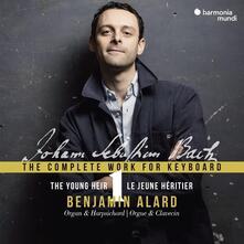 Musica per strumento a tastiera vol.1 - CD Audio di Johann Sebastian Bach,Benjamin Alard