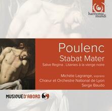 Stabat Mater - CD Audio di Francis Poulenc,Serge Baudo,Orchestra Nazionale dell'Opera Estonia