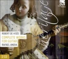Opere per chitarra (Integrale) - CD Audio di Robert de Visée
