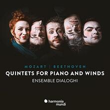 Quintetti per pianoforte e archi - CD Audio di Ludwig van Beethoven,Wolfgang Amadeus Mozart,Ensemble Dialoghi