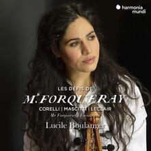 Les défis de Monsieur Forquera - CD Audio di Lucile Boulanger