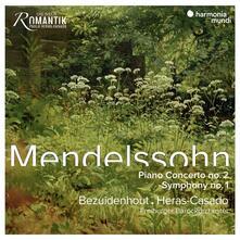 Concerto per pianoforte n.2 - Sinfonia n.1 - Ouverture Melusine - CD Audio di Felix Mendelssohn-Bartholdy,Freiburger Barockorchester,Kristian Bezuidenhout,Pablo Heras-Casado
