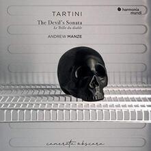 Il trillo del Diavolo (The Devil's Trill) - CD Audio di Giuseppe Tartini,Andrew Manze