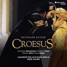 Croesus - CD Audio di René Jacobs,Werner Güra,Dorothea Röschmann,Roman Trekel,Klaus Häger,Akademie für Alte Musik,Reinhard Keiser