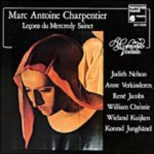 Leçons de ténèbres du Mercredi Saint - CD Audio di Marc-Antoine Charpentier