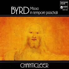 Missa in Tempore Paschali - CD Audio di William Byrd,Chanticleer