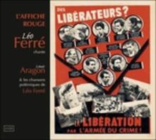 L'affiche rouge - Le chansons di Aragon - CD Audio di Léo Ferré