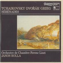 Serenata per archi Op.48 in do - CD Audio di Pyotr Ilyich Tchaikovsky