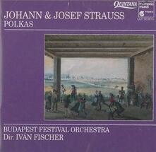 Polkas - CD Audio di Johann Strauss