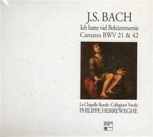 Cantata BWV21 Ich Hatte Viel Bekummernis - CD Audio di Johann Sebastian Bach