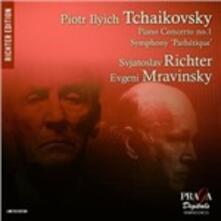 Piano Concerto 1-Sym.no.6 - SuperAudio CD di Pyotr Ilyich Tchaikovsky