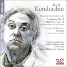 Sinfonia n.13 - SuperAudio CD ibrido di Dmitri Shostakovich