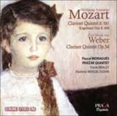 CD Quintetto con clarinetto K581 - Quintetto con clarinetto op.34 Wolfgang Amadeus Mozart Carl Maria Von Weber