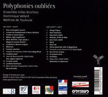 Polyphonies Oubliees - CD Audio di Ensemble Gilles Binchois
