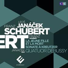 La Morte e La Fanciulla - CD Audio di Franz Schubert,Quatuor Debussy