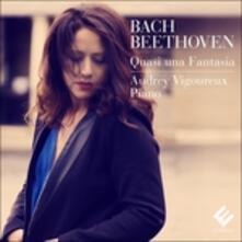 Quasi Una Fantasia - CD Audio di Johann Sebastian Bach,Ludwig van Beethoven