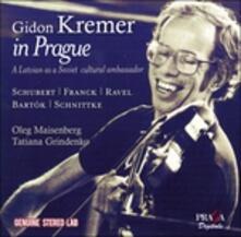 In Prague - CD Audio di Maurice Ravel,Franz Schubert,César Franck,Gidon Kremer