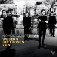Quartetti per archi - CD Audio di Ludwig van Beethoven,Anton Webern,Isang Yun